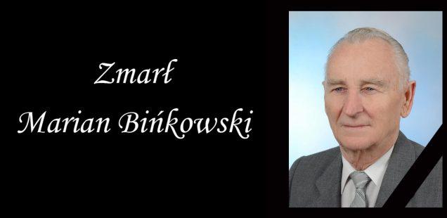 Zmarł Marian Bińkowski